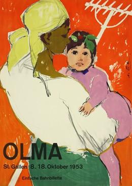 OLMA St. Gallen 8. – 18. Oktober 1953, Hans Falk