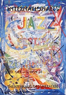 JAZZ Festival Zürich 1991, Ivano Zanré