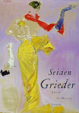 Seiden Grieder – Zürich St. Moritz Luzern, Hans Falk