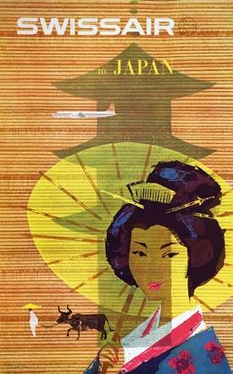 SWISSAIR to JAPAN, Donald Brun