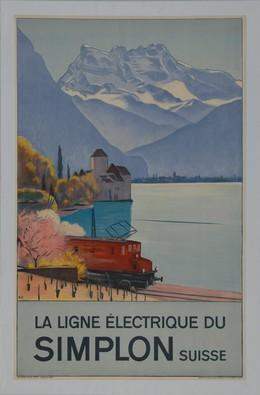 La ligne électrique du Simplon, Emil Cardinaux