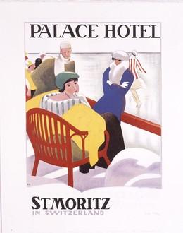PALACE HOTEL – ST. MORITZ SWITZERLAND, Cardinaux, Emil, d'après