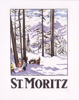 ST. MORITZ, Cardinaux, Emil, d'après
