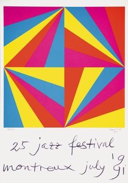 JAZZ Festival Montreux 1991 / 25. Festival – Max Bill, Max Bill