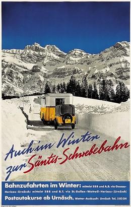 Auch im Winter zur Säntis-Schwebebahn, Gross (Photo)