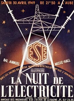 La Nuit de l'Electricité – Bal Annual – Music Hall, Constantin