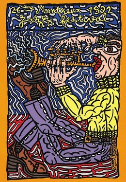 JAZZ Festival Montreux 1992 / 26. Festival – Robert Combas, Robert Combas