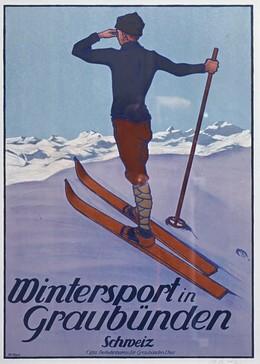 Winter Sport in the Grisons, Koch, Walther, d'après