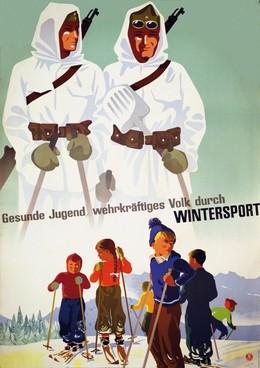 Gesunde Jugend, wehrkräftiges Volk durch Wintersport, Hans Thöni