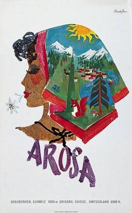 AROSA Graubünden Schweiz Grisons Suisse Switzerland, Donald Brun