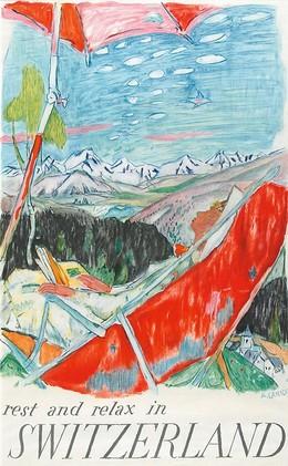 Rest and relax in Switzerland, Alois Carigiet