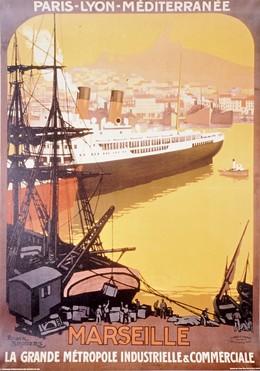 PLM Marseille – 1922 (reprint), Roger Broders