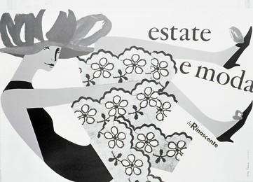 Estate e moda – La Rinascente, Lora Lamm