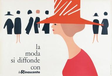 la moda si diffonde con – La Rinascente, Lora Lamm