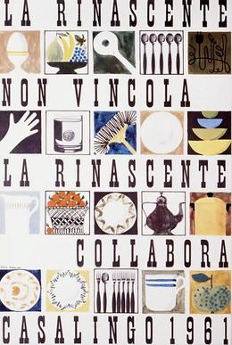 La Rinascente non vincola – La Rinascente collabora – Casalingo 1961, Lora Lamm