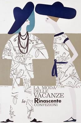 La Moda delle Vacanze – La Rinascente Confezioni, Lora Lamm