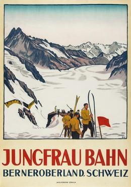 JUNGFRAU BAHN – Berneroberland – Schweiz, Emil Cardinaux
