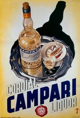 Cordial CAMPARI Liquor, Crespin