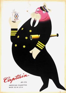 Captain – American Cigarettes, Herbert Leupin