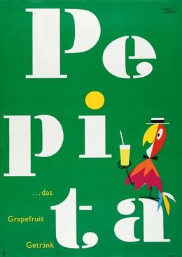 PEPITA… das Grapefruit Getränk, Herbert Leupin