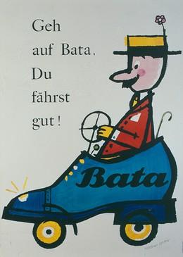 Bata – Geh auf Bata – Du fährst gut !, Herbert Leupin