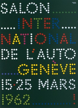 Salon International de l'Auto Genève 15 – 25 Mars 1962, Herbert Leupin