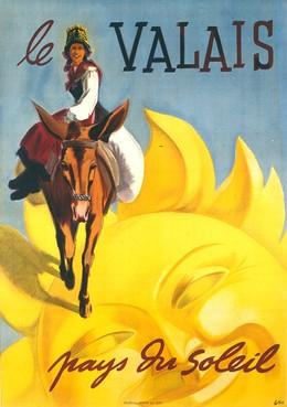 Le VALAIS – Pays du soleil, Herbert Berthold Libiszewski
