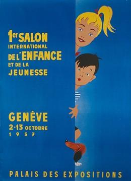 1er Salon International de l'Enfance et de la Jeunesse 1957 Genève, Veuillet