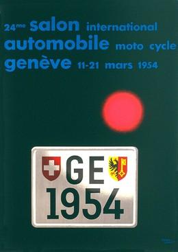 24th Geneva Motor Show 1954, Herbert Leupin