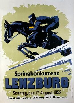 Springkonkurrenz LENZBURG 17. August 1952, Gerold