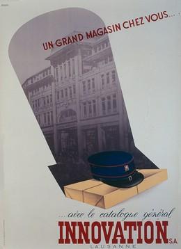 Innovation Lausanne – un Grand Magazin chez vous – avec le catalogue général, Vogue Lausanne