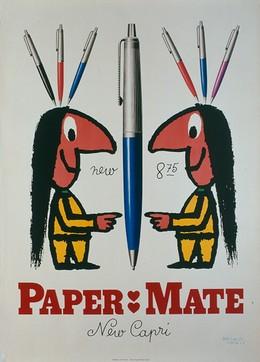 PAPER MATE – New Capri, Herbert Leupin