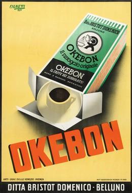 OKEBON caffè – Ditta. Bristot Domenico Belluno, Michelangelo Cignetti