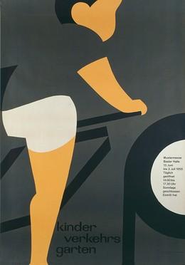 Mustermesse Basel – Kinder Verkehrs Garten – Basler Halle 1955, Kurt Hauert