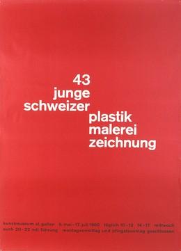 43 junge schweizer – plastik malerei zeichnung – Kunstmuseum St. Gallen, Mary Vieira