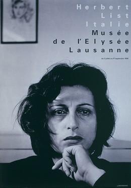 """Musée de l'Elysée Lausanne – Photo: Herbert List, Italie """"Anna Magnani, Rome 1951"""", Werner Jeker"""
