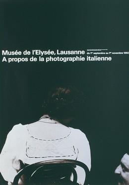 "Musée de l'Elysée Lausanne – Photo: Francesco Paolo Michetti ""Cecilia e Masciantionio, Francavilla, 1895"", Werner Jeker"