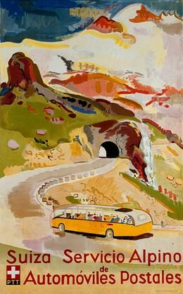 Suiza Servicio Alpino de Automobiles Postales, Max Hegetschweiler