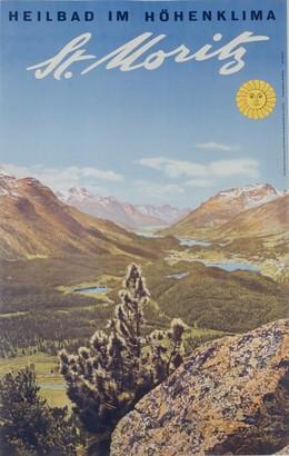 ST. MORITZ – Heilbad im Höhenklima, Albert Steiner