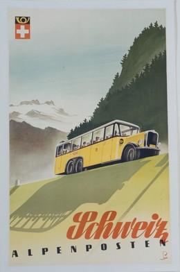 Schweiz – ALPENPOSTEN, Bernhard Reber