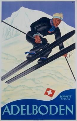 Adelboden Switzerland, Willy Trapp