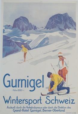 Gurnigel – Wintersport Schweiz – Grand-Hotel Gurnigel, Berner Oberland – 1200 m.ü.M., Erica von Kager
