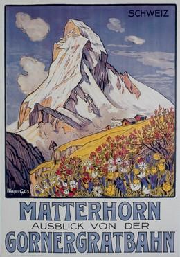 MATTERHORN – Aussicht von der – Gornergrat-Bahn, François Gos