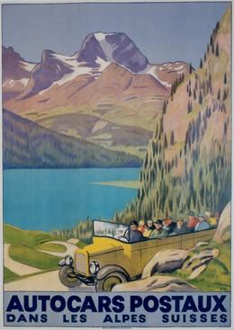 Autocars Postaux dans les Alpes Suisses, Emil Cardinaux