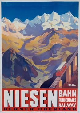 NIESEN – Bahn – Funiculaire – Railway – Berner Oberland, Otto Ernst