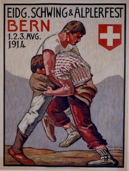 Eidg. Schwing- & Älplerfest Bern 1914, Franz Gehri
