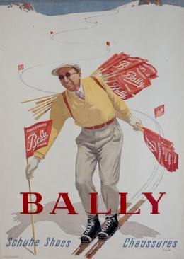 BALLY Schuhe Shoes Chaussures, Rudolf Mülli