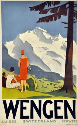 WENGEN Switzerland, Otto Ernst