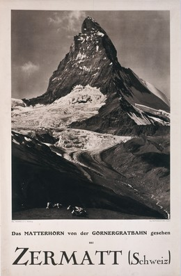 Das Matterhorn von der Gornergratbahn gesehen – bei ZERMATT (Schweiz), Wehrli A.G. (Photo)