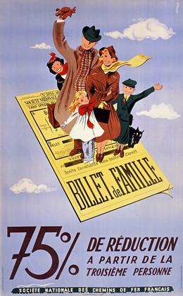 BILLET DE FAMILLE – 75 % de Réduction, Federico Garetto